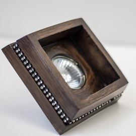 Светильник встраиваемый LH-30172 DARK WOOD