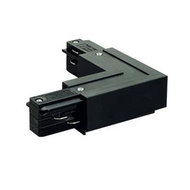 Соединитель для шинопроводов L-образный  (внешний) Черный