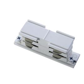 Соединитель для шинопроводов прямой внутренний стык Белый