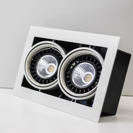 Светильник встраиваемый карданный S35109 WH LED