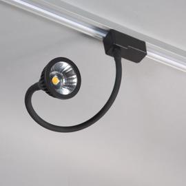 Светильник трековый 3хфазный S1102BL LED