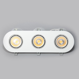 Светильник встраиваемый поворотный S1105-3WH LED