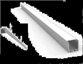 Накладной/Подвесной алюминиевый профиль P3535