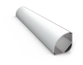 Угловой алюминиевый профиль PU3026