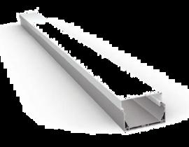 Накладной/Подвесной алюминиевый профиль P7547