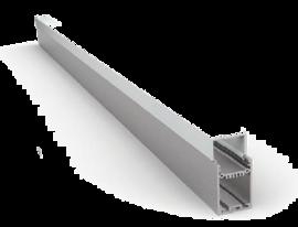 Накладной/Подвесной алюминиевый профиль P3575