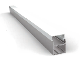 Накладной/Подвесной алюминиевый профиль P5677