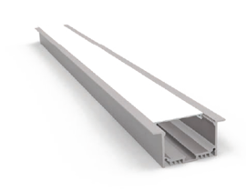 Встраиваемый алюминиевый профиль PV6532